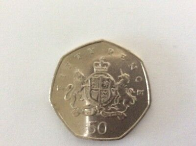 Christopher Ironside 50P Coin