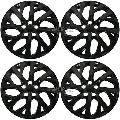 For Toyota Corolla 4 15 Full Wheel Covers Hub Caps Steel Clips For