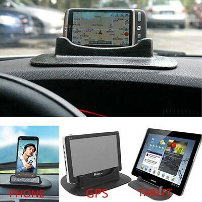 KQ_ Car Universal Creative Dashboard Anti Slip Holder Mount for Phone Tablet GPS