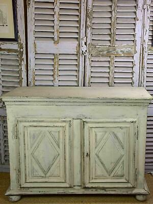 Early 19th Century French buffet with grey patina