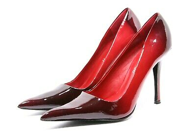 20af48954ae ALDO Heels Womens shoes size 39 8 8.5 Pumps POINTY Toe OMBRE RED Patent  Leather