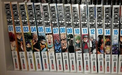 ONE-PUNCH MAN N. 1-2-3-4-5-6-7-8-9-10-11-12-13-14-15 sequenza completa panini