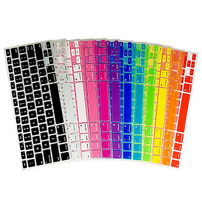KQ_ Soft Silicone Keyboard Cover for Apple Macbook Air Pro US Version Laptop Mag