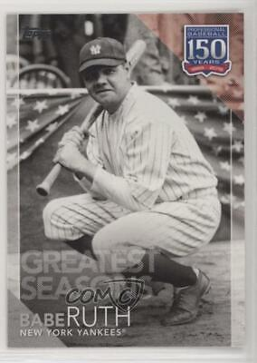 2019 Topps 150 Years of Professional Baseball Greatest Seasons - Babe Ruth Card