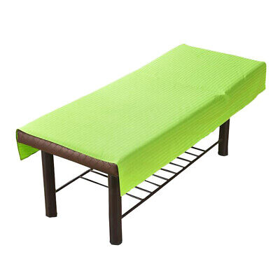 Green Beauty Bed Sheets SPA Massage Treatment Bed Cover