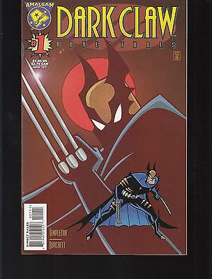 DARK CLAW ADVENTURES  #1  1997 DC -FACE TO FACE- TEMPLETON-c/s/a/ BURCHETT-a...