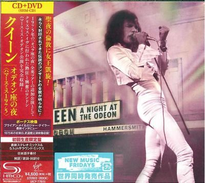 QUEEN-A NIGHT AT THE ODEON - HAMMERSMITH 1975-JAPAN SHM-CD+DVD Ltd/Ed L08