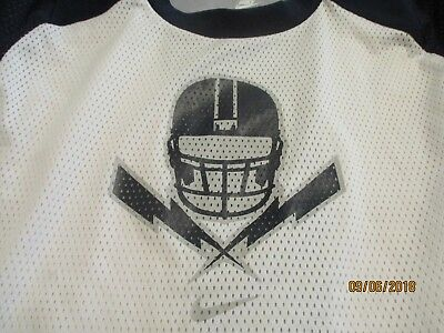 6458c4cc6 Vintage NIKE Oakland RAIDERS Football Jersey Boys Kids Youth Size - Large