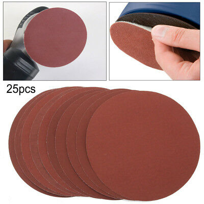 25Pcs 3'' Mixed Grit Part Cleaning Conditioning Roll Lock Surface Sanding Disc
