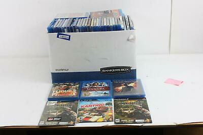 Lot of 100+ Blu-Ray DVD Movies Shows Games
