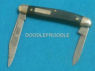 Vintage Wls Craftsman Tools Etched Sears Usa 95042 Stockman Knife Knives Pocket