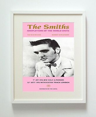 The Smiths Shoplifters A3 Repro Print Poster Unframed Hq 216Gsm Matte Pro