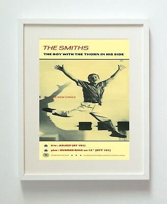 The Smiths Boy With Thorn Ad A3 Repro Print Poster Unframed 216Gsm Matte Pro