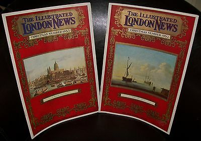 2 x 'THE ILLUSTRATED LONDON NEWS' PUBLICATIONS Christmas 1952 & 1953