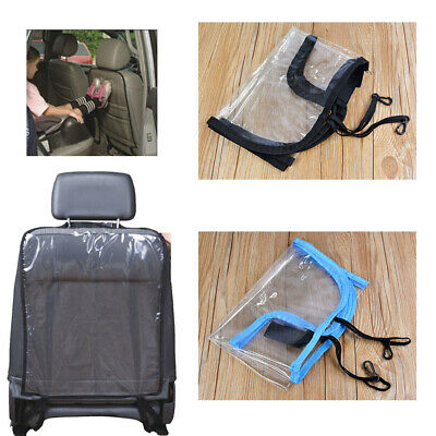 Top Car Universal Seat Back Protector Cover for Children Auto Kick Mat Mud Clean