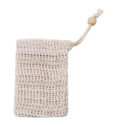 Soap Exfoliating Natural Sisal Soap Bag Pouch New AA