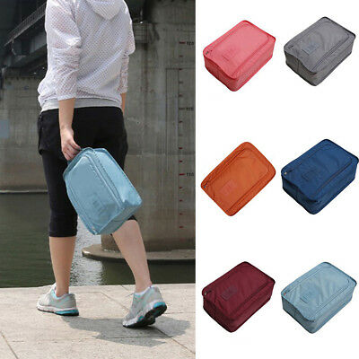 KQ_ Outdoor Travel Shoes Storage Bag Waterproof Portable Packing Cubes Container