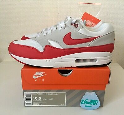 newest dd43c f14e6 Nike Air Max 1 OG Anniversary Red 2017 10,5 us 9,5 uk