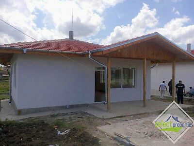 HOUSE / PROPERTY WITH PRIVATE LAND FOR SALE IN BULGARIA,10min DRIVE TO BEACH.