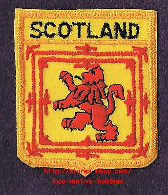 Lmh Patch Badge Royaume Du Écosse Red Lion Royal Manteau Arms King Scots Jaune