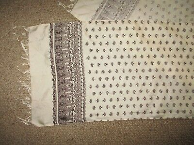 Vintage Chinese Silk  Long Scarf  Good Condition