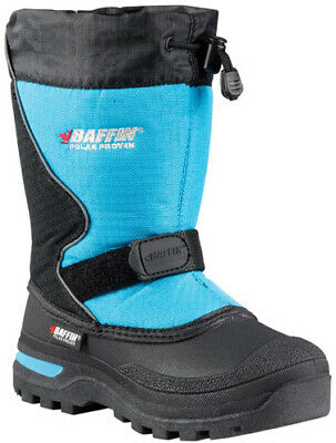 Baffin Inc Baffin Mustang Youth Boots Size 3 Blue Black | Electric Blue 3023196