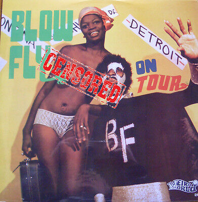 Blowfly - On Tour LP Weird Wolrd Clarence Reid Party Album Rudy Ray Moore