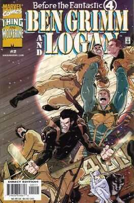 Before the Fantastic Four: Ben Grimm and Logan #2 in NM. Marvel comics [*2s]