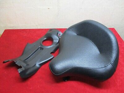 Oem 2013 & Up Harley Touring Police Solo Seat Kit, Brackets, Spring Shock, Tray