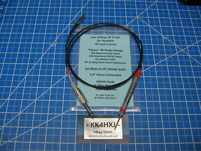 VTVM RF Probe - Low Voltage - Heathkit IM and V Series Meters V-7/IM-18 Etc