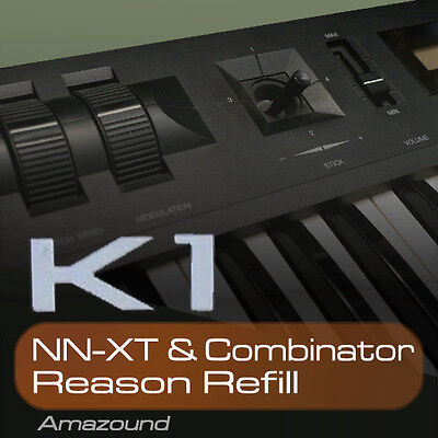 KAWAI K1 + K1II REASON REFILL 128 PATCHES for NNXT & COMBINATOR QUALITY SAMPLES