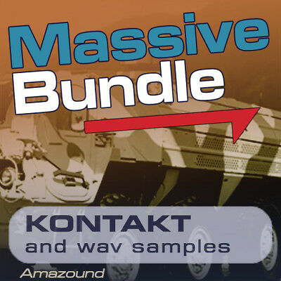60Gb Kontakt Massive Synth Library 6000 Nki Patches 59000 Wav Samples Mac Pc Mpc