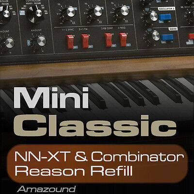 MINI CLASSIC REASON REFILL 128 PATCHES for NNXT & COMB 2226 SAMPLES 24bit TRAP