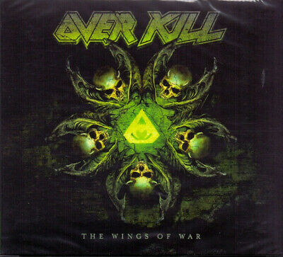 Overkill – The Wings Of War 2019 COLLECTOR'S SEALED DIGIPAK CD! FREE SHIPPING