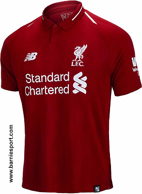 LARGE MENS. OFFICIAL new balance LIVERPOOL FC HOME SHIRT 2018-2019