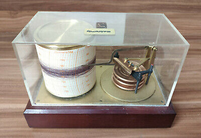 Präzisions Barograph Lufft Type 8005 mbar Barometer