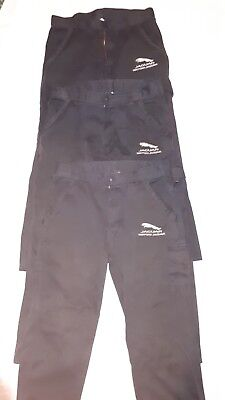 Jaguar Workshop Trousers. Three pairs in used good condition.