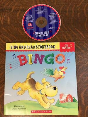 BINGO SING AND READ STORYBOOK Childrens Book On CD Audio SC Read Along Book