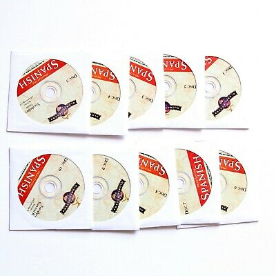 Global Access Mastering Spanish 10 Disc CDs