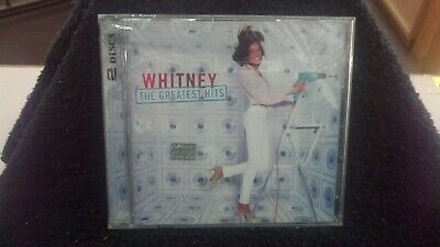 The Greatest Hits - Whitney Houston -(CD, May-2000, 2 Discs, Arista)-NEW