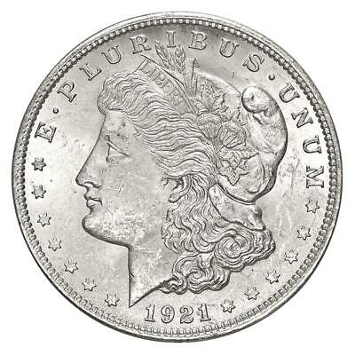 1921 Morgan Silver Dollar VG+