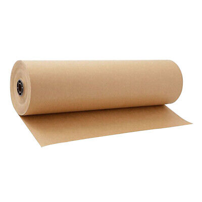 30Meters Brown Kraft Parcel Paper Roll for Packing and Wrapping Parcels 30cm
