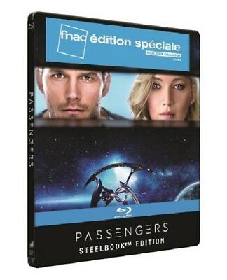 PASSENGERS STEELBOOK Blu Ray 3D + Blu Ray Edition FNAC NEUF SOUS BLISTER