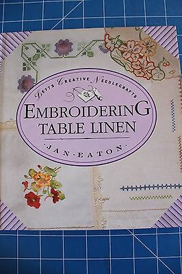 Embroidering Table Linen by Jan Eaton