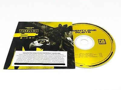 TWENTY ONE PILOTS Jumpsuit / Nico And The Niners Promo CD Sampler TRENCH