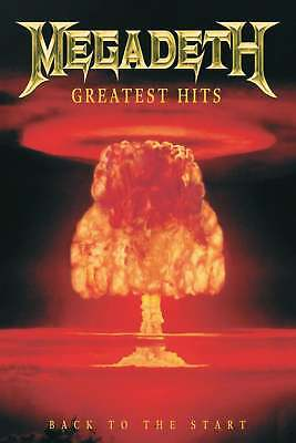 """16 songs from """"Megadeth - Greatest Hits: Back to the Start"""". HQ PDF files"""
