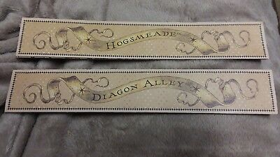 Universal Orlando Harry Potter Wand Map Replacement diagon alley and hogsmeade