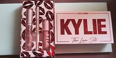 """Kylie Cosmetics Valentine's Day 2019 """"The Love Set"""" 3 Piece Lip Trio Sold Out"""