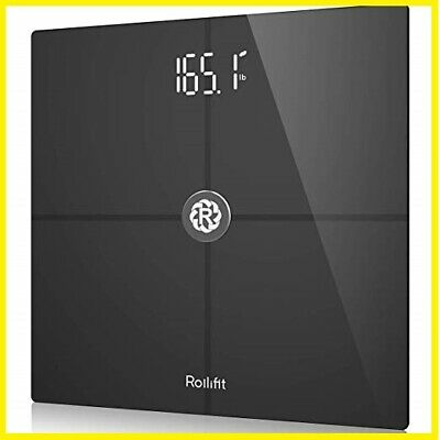 Rollifit Premium Digital Smart Scale - Body Fat Scale with Fitness APP & Body -