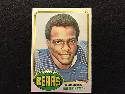 1976 Walter Payton Topps Rookie Reprint Football Card